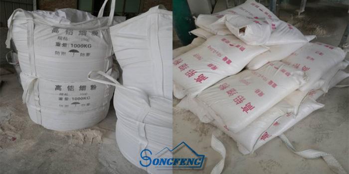 铝矾土熟料包装|价格|厂家图